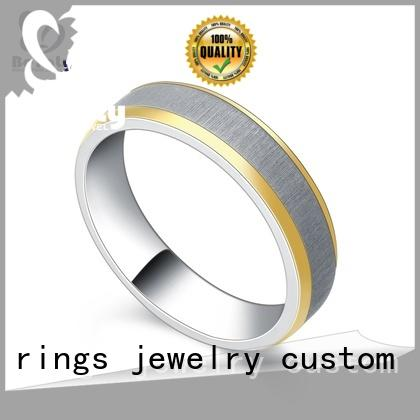 Wholesale platinum diamond rings band company for men