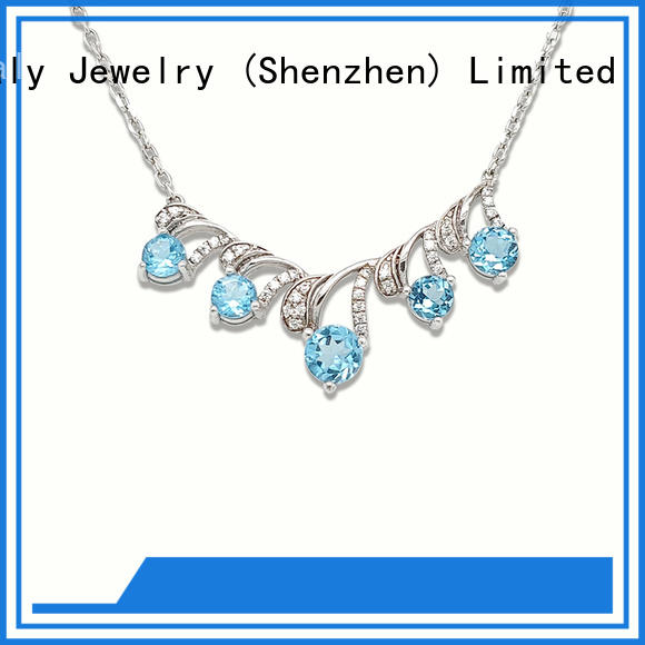 BEYALY brilliant female necklace chain inquire now for girls