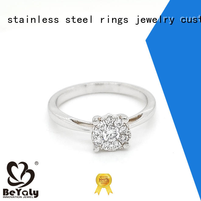 BEYALY anniversary sterling silver ring design for daily life