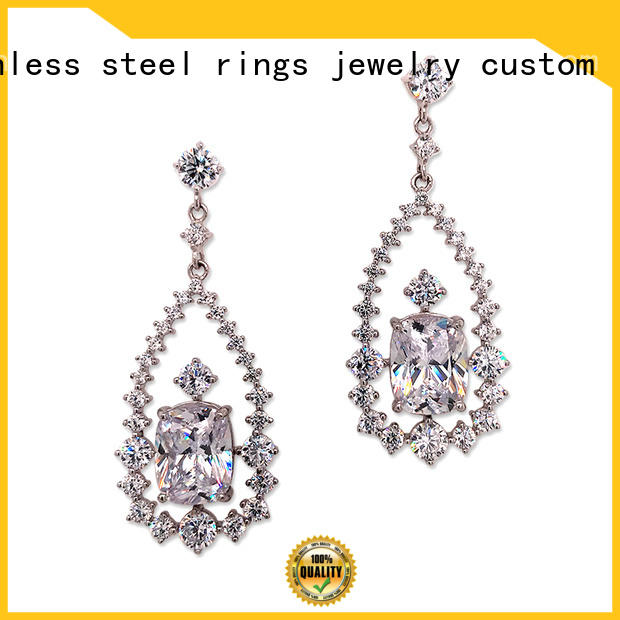 BEYALY letters cz stud earrings Suppliers for exhibition