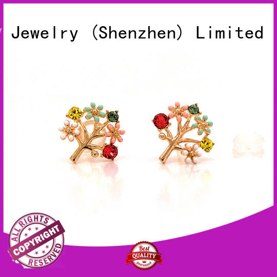 fashion small diamond stud earrings for cartilage circle Suppliers for exhibition