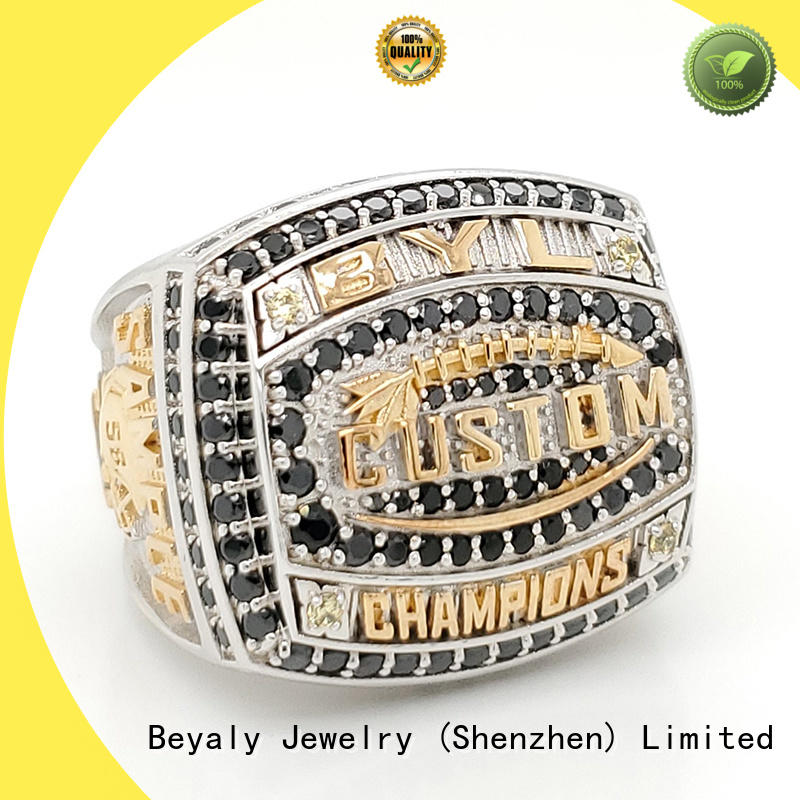 Custom champion ring hilltops Suppliers for player