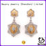 BEYALY stylish cubic zirconia stud earrings for business for business gift