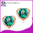 Top rose gold stud earrings sale earring Supply for advertising promotion