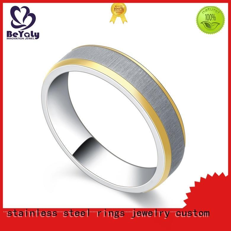 BEYALY diamond platinum ring promotion for wedding