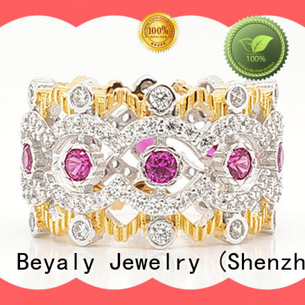 BEYALY Best crown ring white queen supplier for men