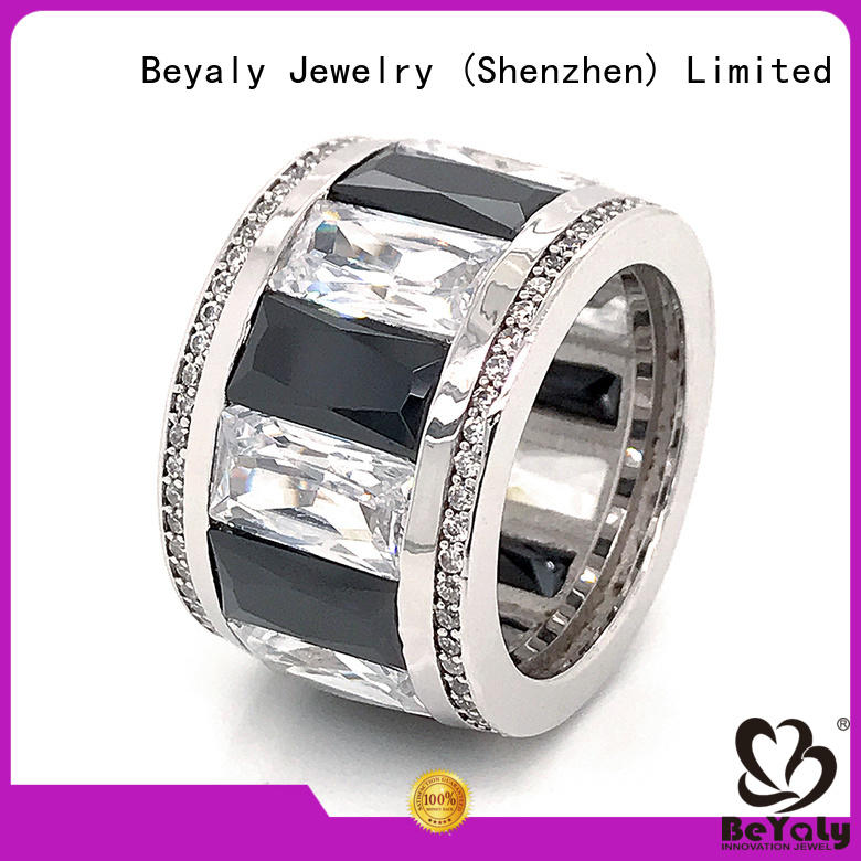 BEYALY ring platinum diamond band ring company for daily life