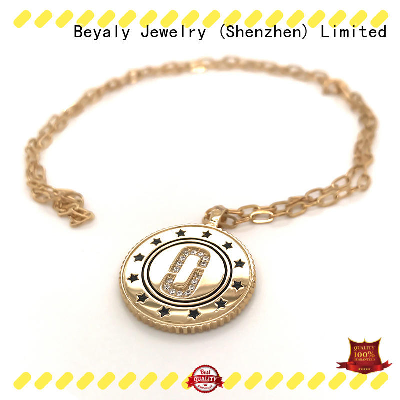 BEYALY selling white gold charm bracelet best price Supply for women