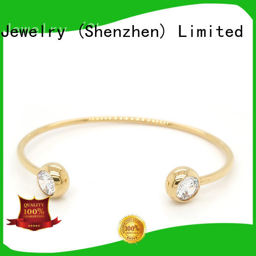 High-quality cubic zirconia bangle bracelet colored company for anniversary celebration