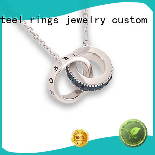 colorful jewelry dog tag necklace silver Suppliers for women