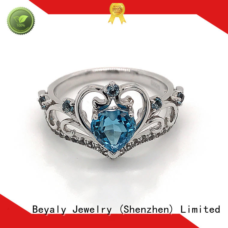 BEYALY customized initial ring Supply for men