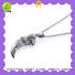 BEYALY unique sterling silver circle pendant necklace beauty for women