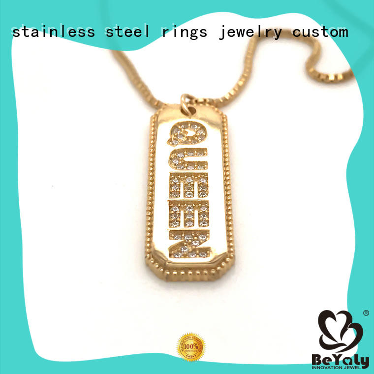 BEYALY pendants silver pendant necklace for ladies