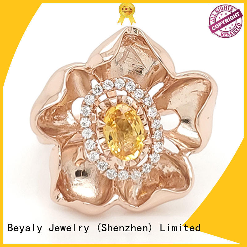 BEYALY sell sterling silver ring for business for wedding