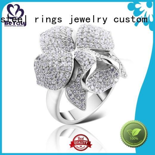 promise platinum ring cz online for men