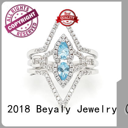 BEYALY anniversary sterling silver ring promotion for daily life