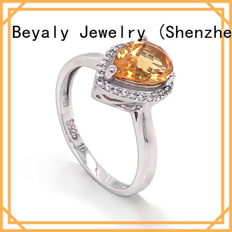 BEYALY Wholesale top rated jewelers for engagement rings factory for wedding
