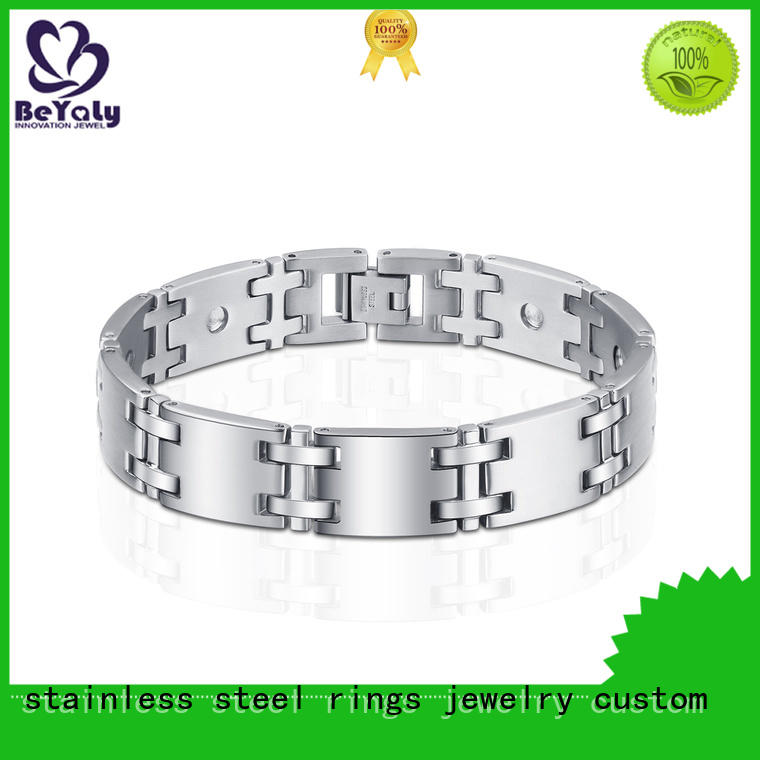 BEYALY open cubic zirconia bracelet with good price for advertising promotion