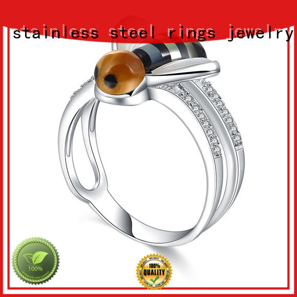 BEYALY promise platinum diamond rings Suppliers for wedding
