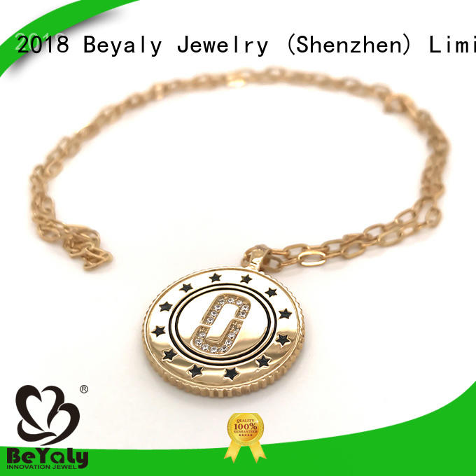 BEYALY sterling silver clover pendant online for women