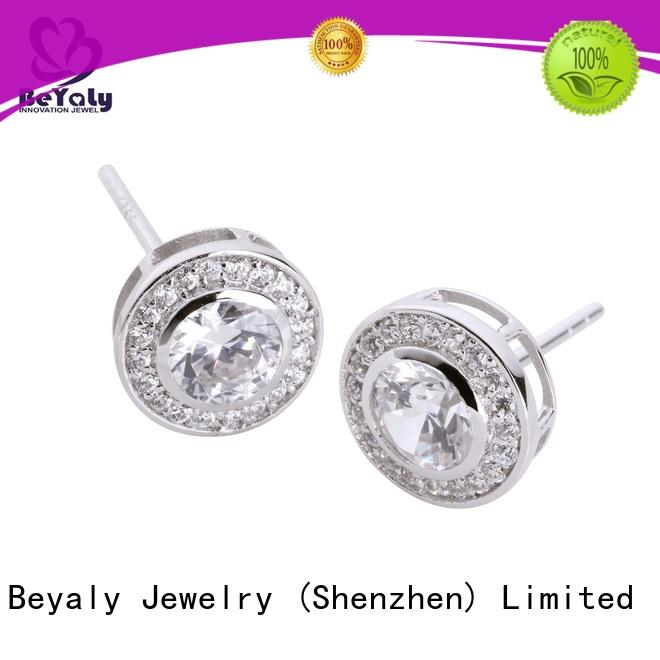BEYALY fashion cz earring supplier for business gift