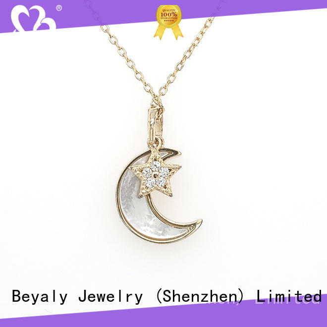 BEYALY 18k pendant necklaces design for wife