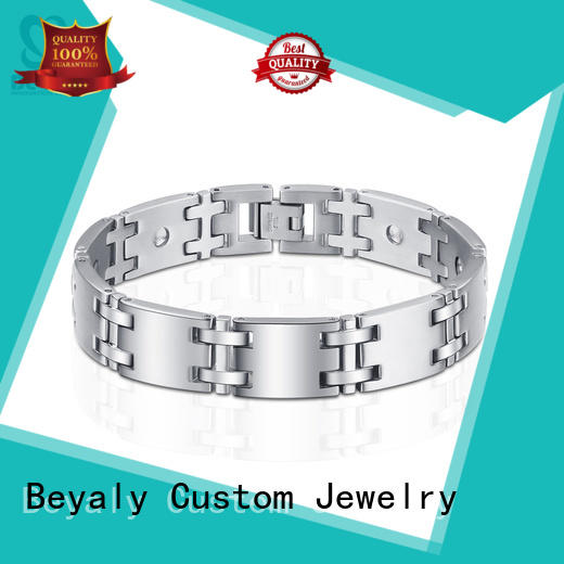 BEYALY strings silver expandable bangle bracelet factory for advertising promotion