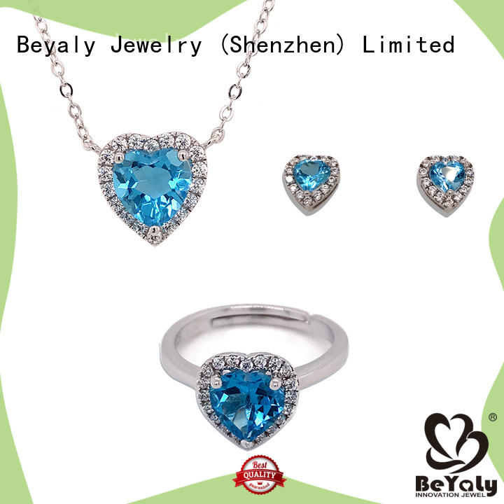 Latest 3 piece jewelry set Suppliers for advertising promotion