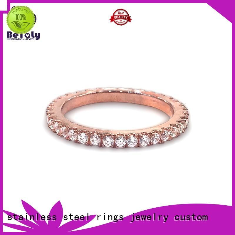 BEYALY design sterling silver ring sets for men