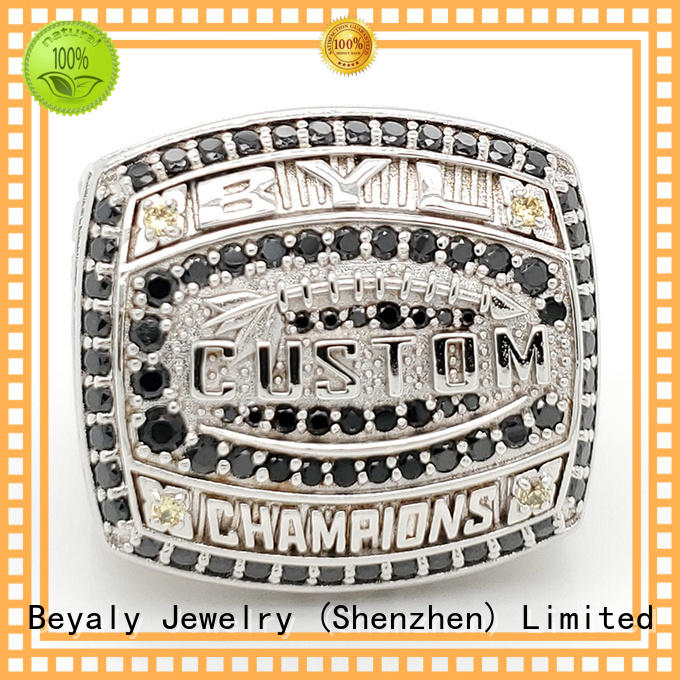 BEYALY elegant basketball championship rings for national chamions