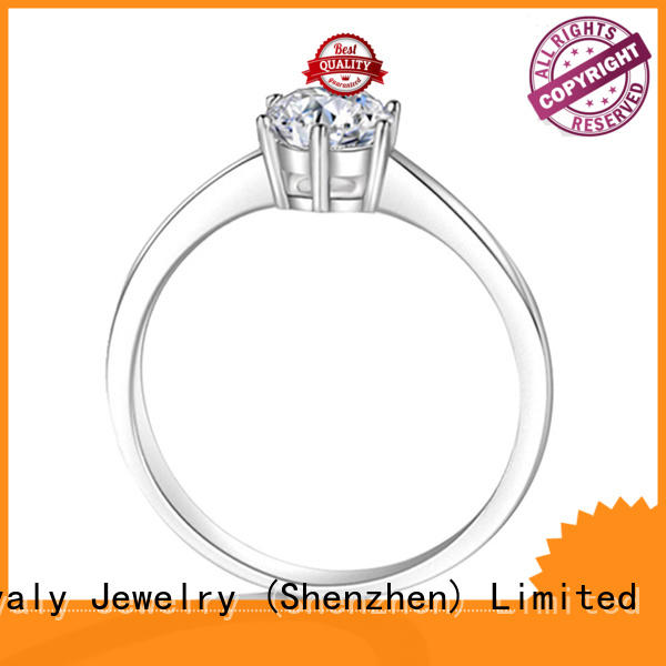 Latest hottest engagement rings steel Supply for wedding