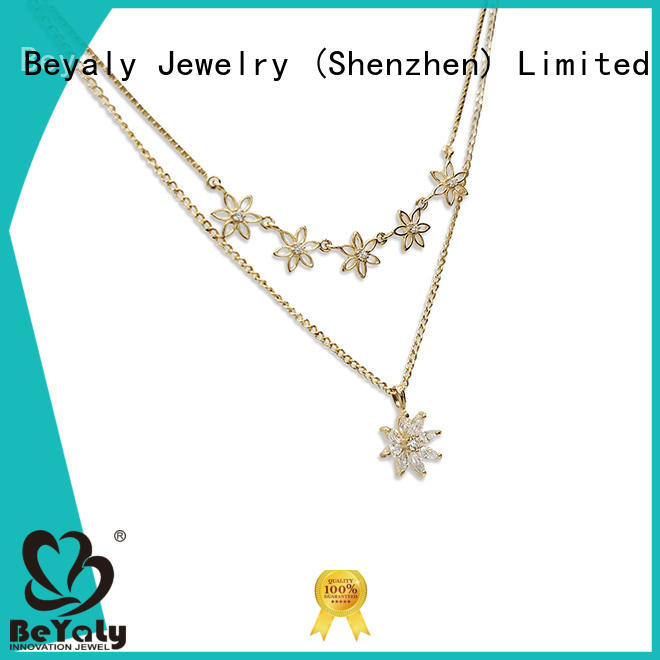 BEYALY Best dog tag necklace for wife
