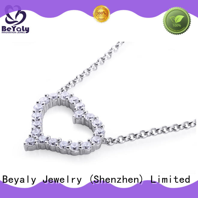 BEYALY natural initial jewelry with good price for women