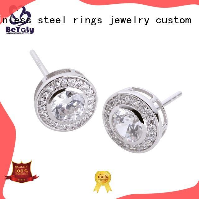 popular cz earring earrings sets for advertising promotion