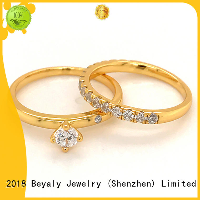 customized stone jewellery ring promotion for wedding