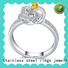 BEYALY diamond sterling silver ring sets for men