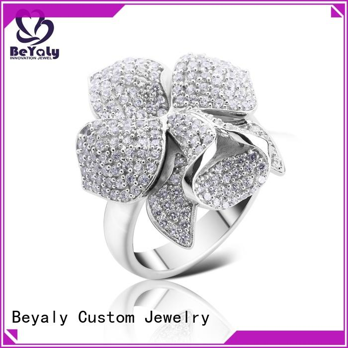 BEYALY setting current engagement ring styles factory for daily life