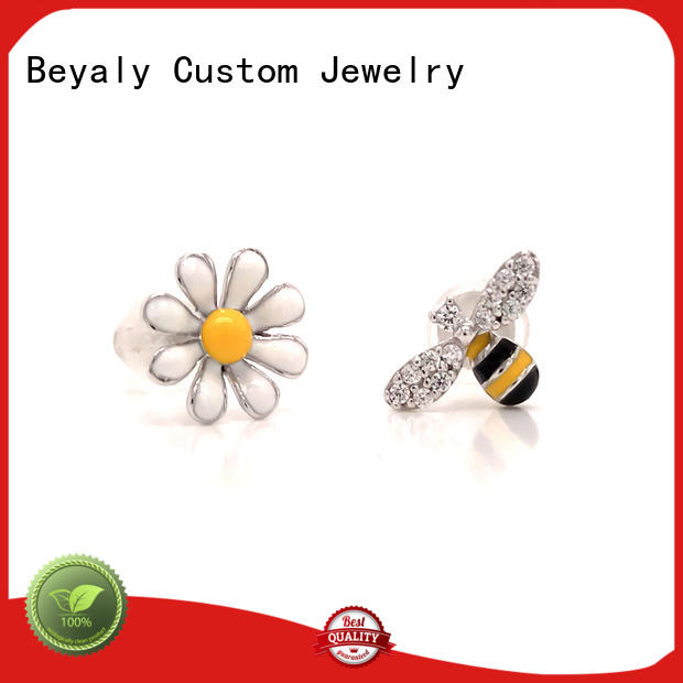 BEYALY special white ear studs Suppliers for women