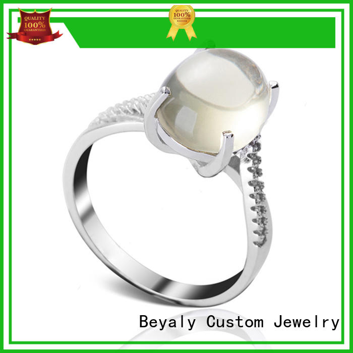 BEYALY silver most popular engagement ring designers for business for wedding