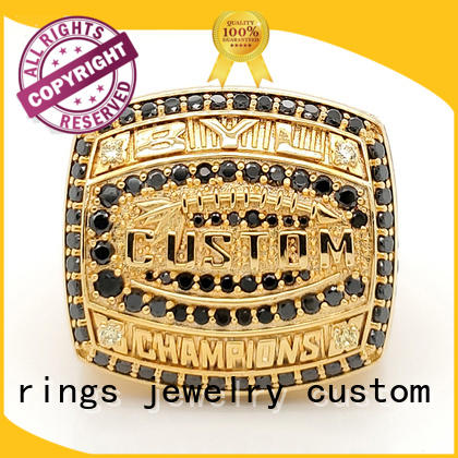 New championship rings green manufacturers for word champions