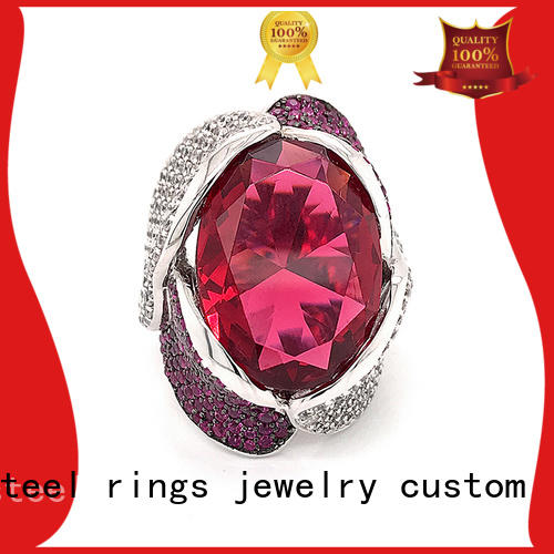 BEYALY Top sterling silver cubic zirconia rings for business for wedding