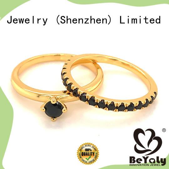 BEYALY customized platinum diamond rings manufacturers for women