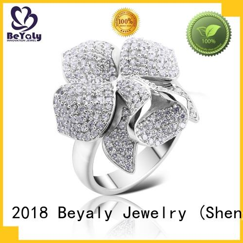 edge platinum diamond rings promotion for daily life BEYALY