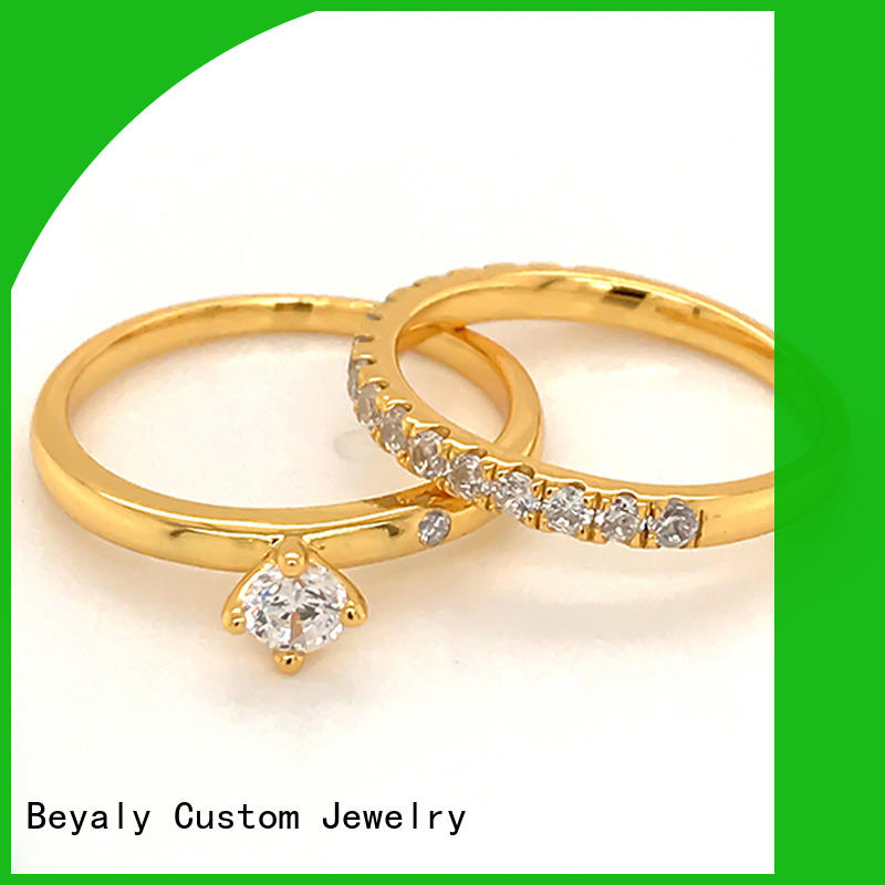 BEYALY inlay the most popular wedding rings company for men