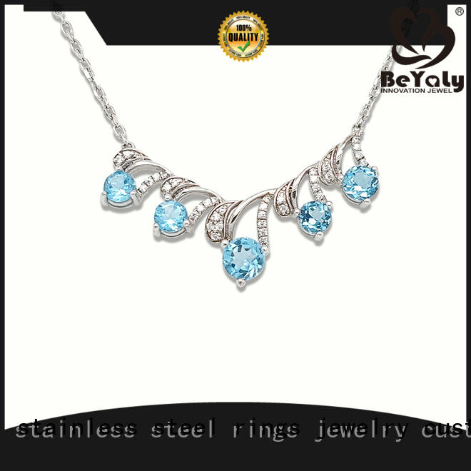 BEYALY brilliant dog necklace design for women