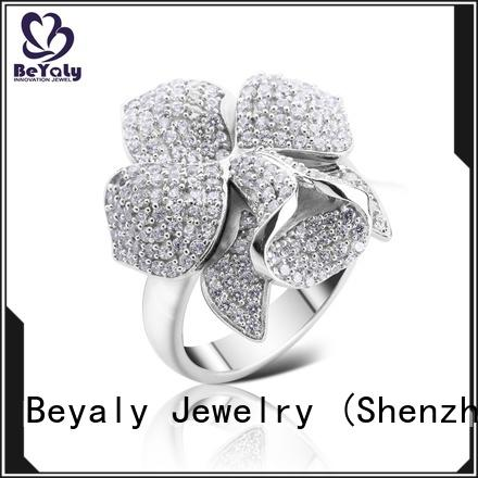 diamond platinum ring steel Suppliers for women