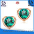 BEYALY shape circle stud earrings company for advertising promotion