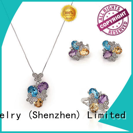 High-quality multi coloured jewellery sets company