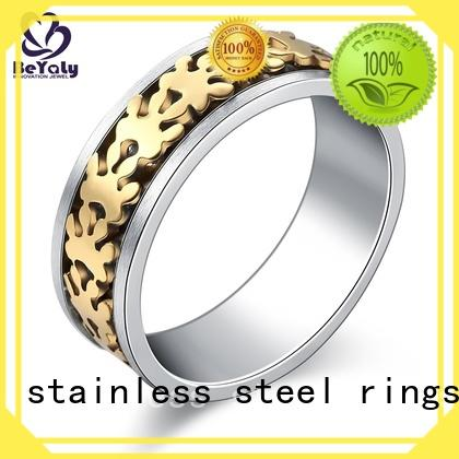 BEYALY Custom sterling silver ring company for men