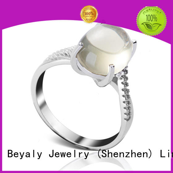 BEYALY Best sterling silver ring company for daily life